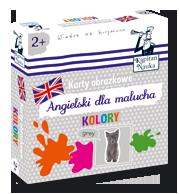 Karty obrazkowe Angielski dla malucha Kolory