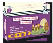 Kapitan Nauka Pakiet Ortografia z mr�wk� i bor�wk� (6-9 lat)