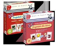 Zestaw Angielski dla dzieci: W domu i w szkole + 100 pierwszych s��wek