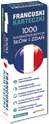 Francuski Karteczki  1000 najwa�niejszych s��w i zda�